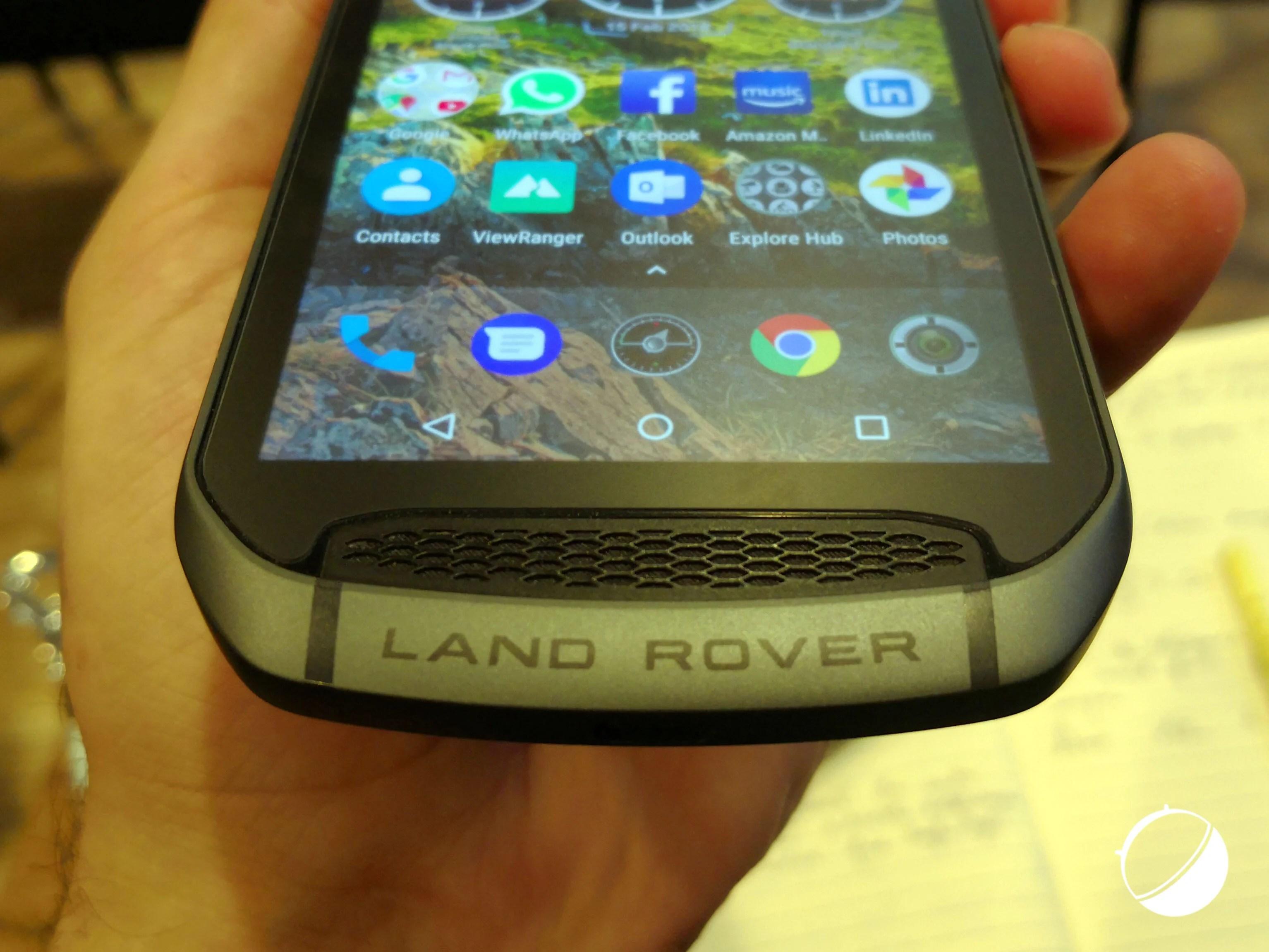 Land Rover Explore: le smartphone d'aventuriers aux allures de 4×4