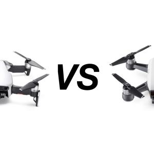 Versus : DJI Spark ou DJI Mavic Air, quel drone choisir ?