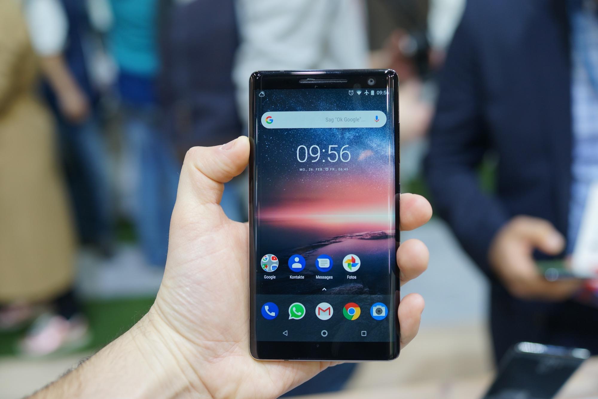 Le Nokia 8 Sirocco sera vendu en « édition spéciale» limitée