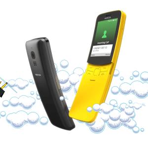 Nokia 8110 : le téléphone de Néo (Matrix) de retour en 4G et avec une énorme autonomie – MWC 2018