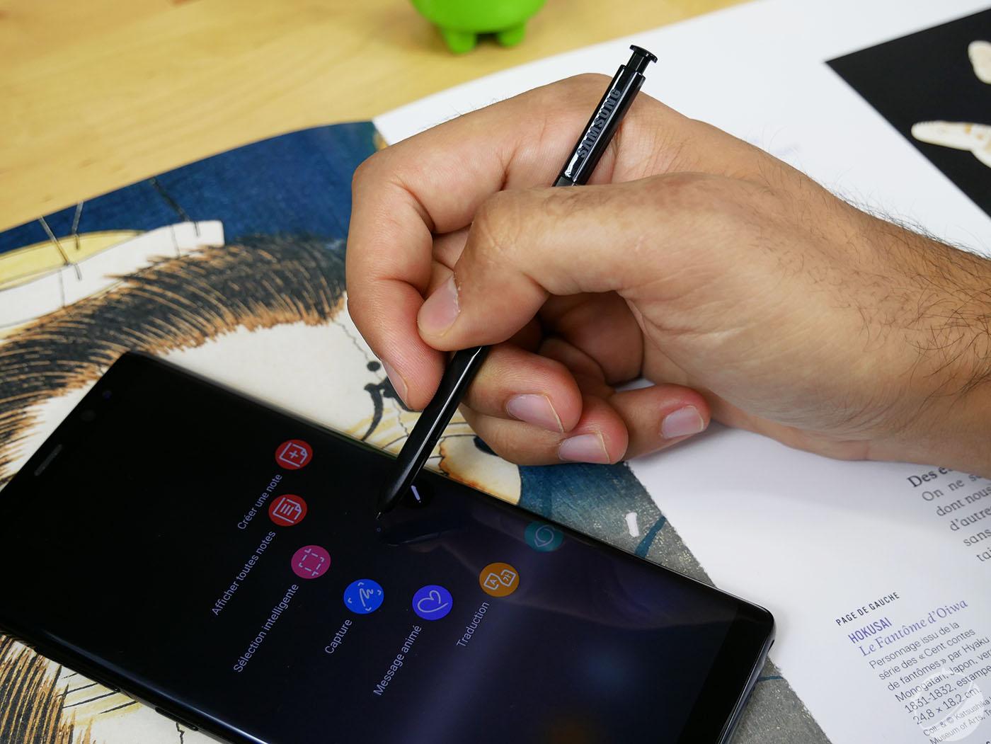 Samsung Galaxy Note 9 : grande batterie 4000 mAh et écran 6,4 pouces en rumeur