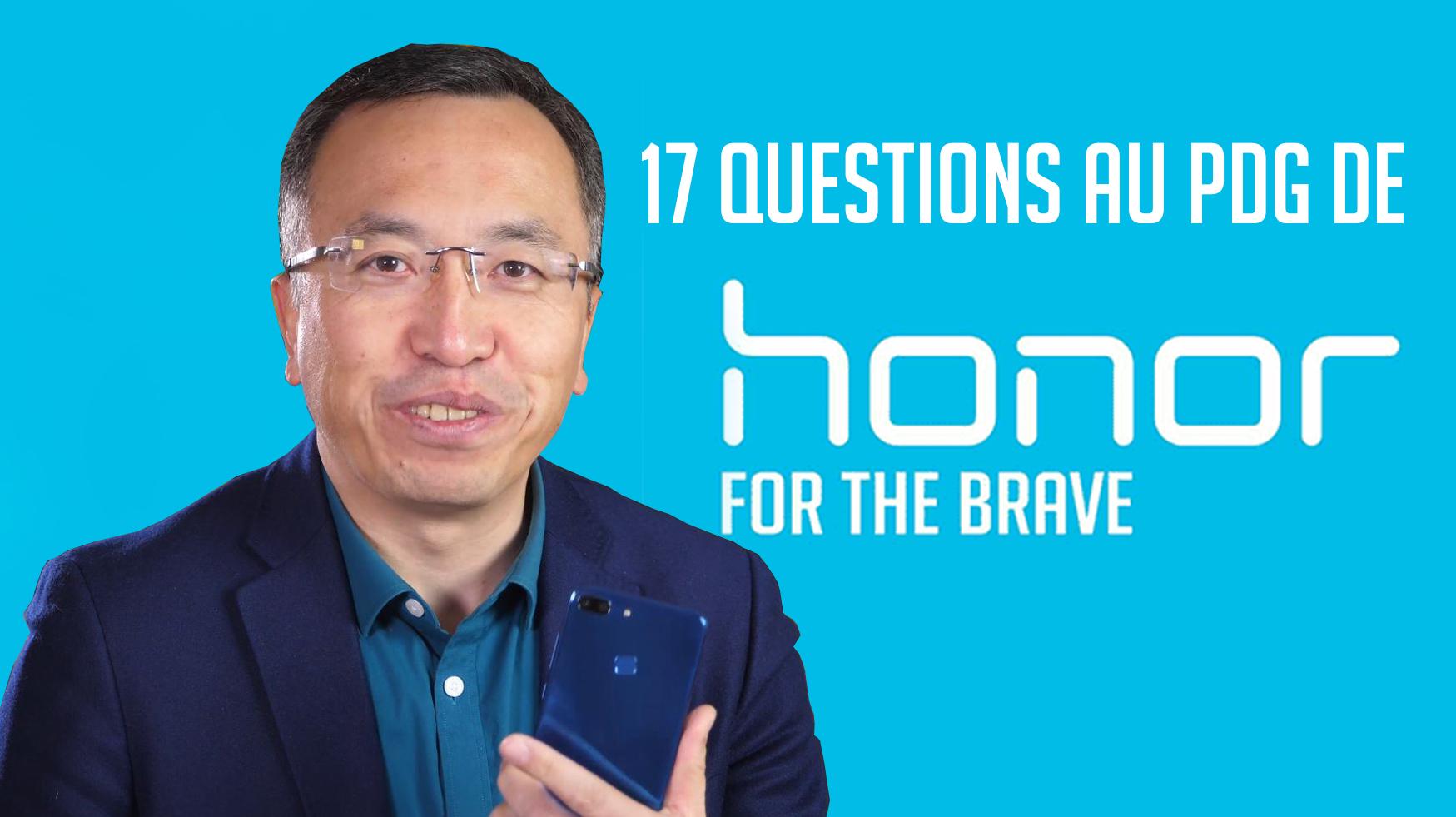 Concours : George Zhao vous fait gagner un Honor 7x !