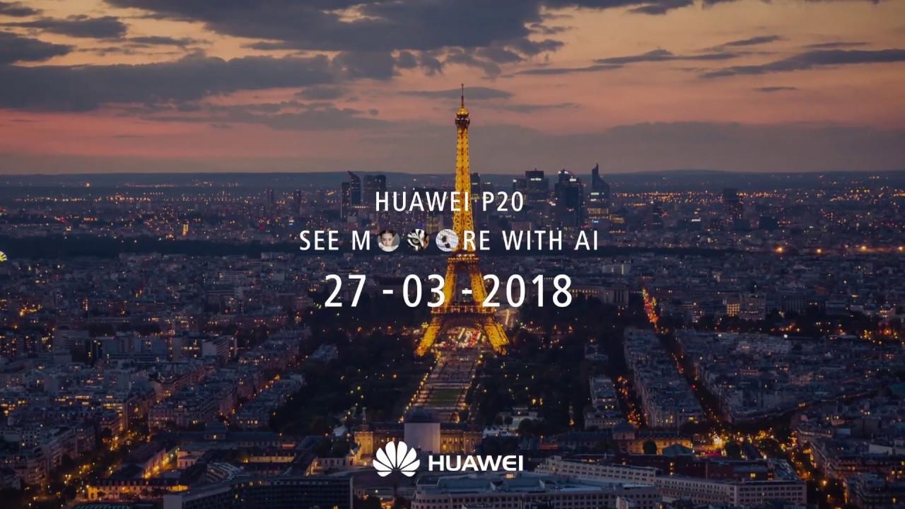 Huawei P20 et P20 Pro : comment suivre la conférence de Paris en direct