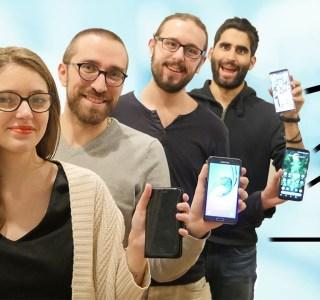 Incursion dans la rédaction de FrAndroid : on vous présente nos smartphones!