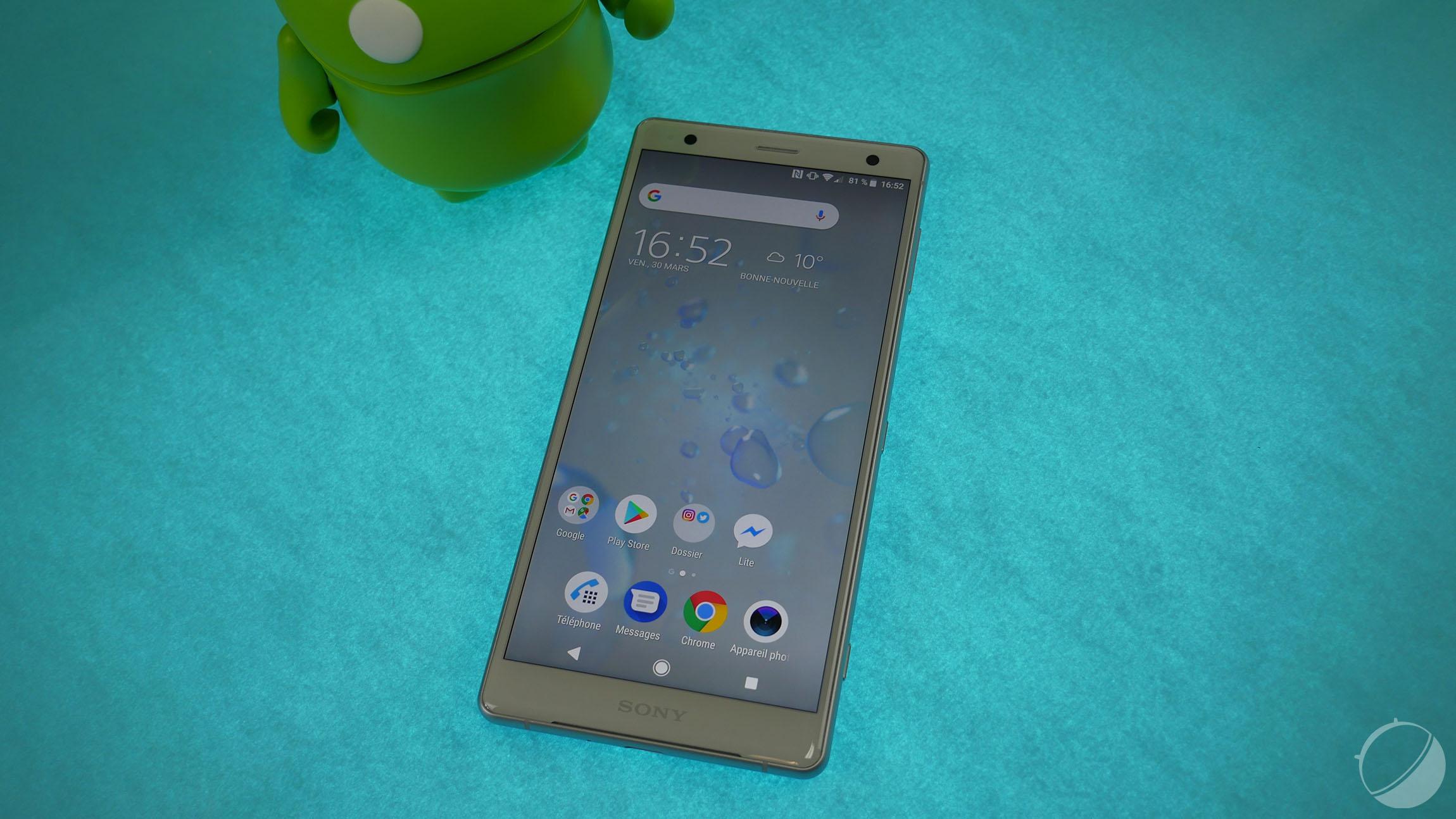 Le Sony Xperia XZ2 se met à jour vers Android 9 Pie