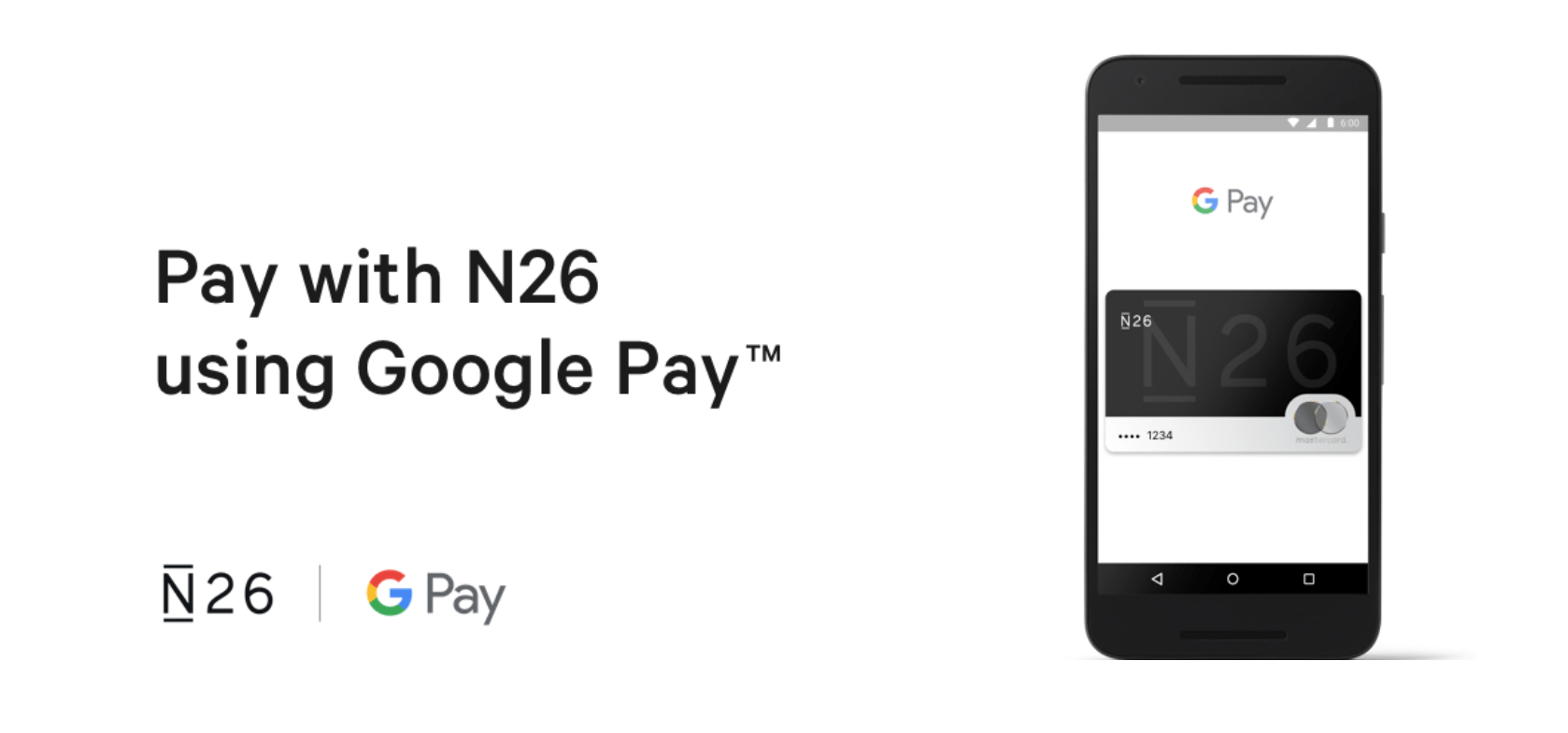 Google Pay supporte maintenant la banque en ligne N26