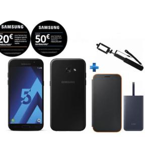 🔥 French Days : le Samsung Galaxy A5 (2017) avec une perche selfie, une batterie externe et une coque pour 199 euros