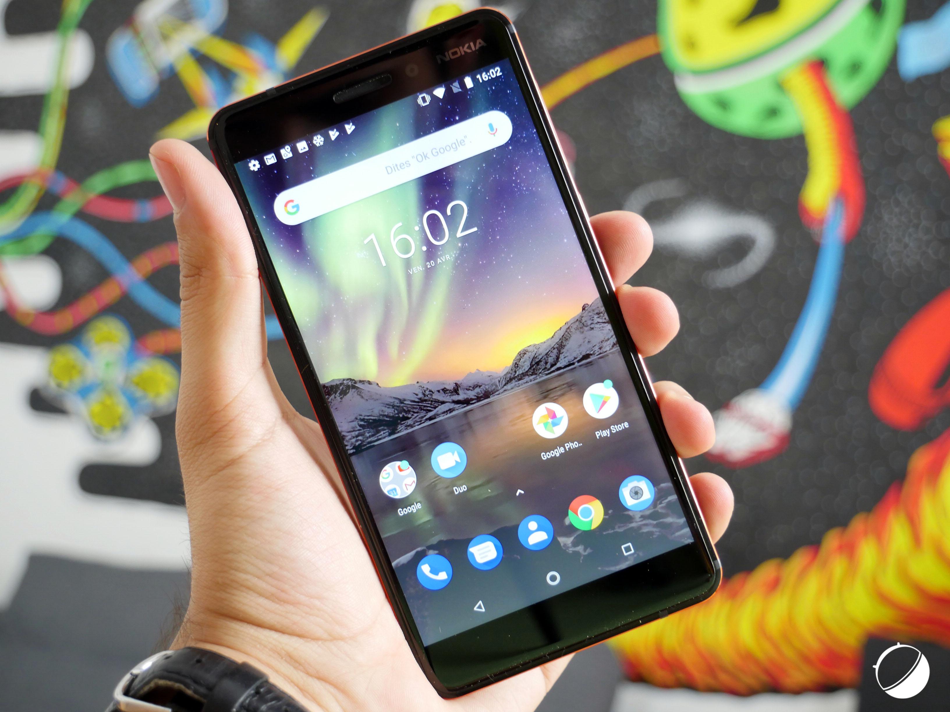 🔥 Bon Plan : le Nokia 6 (2018) à 229 euros au lieu de 279 euros avec un Google Home Mini offert