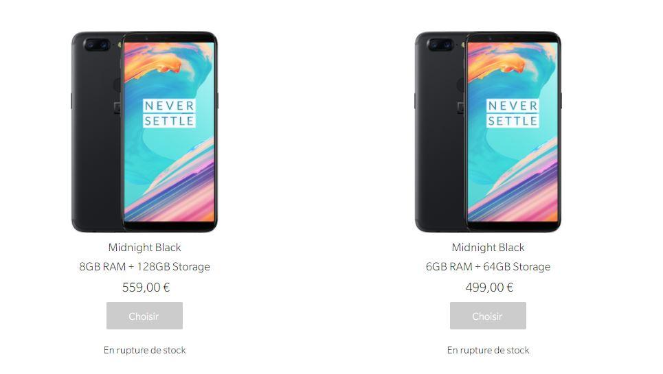 OnePlus 6 : calculons sa date de sortie grâce à la rupture de stock du OnePlus 5T