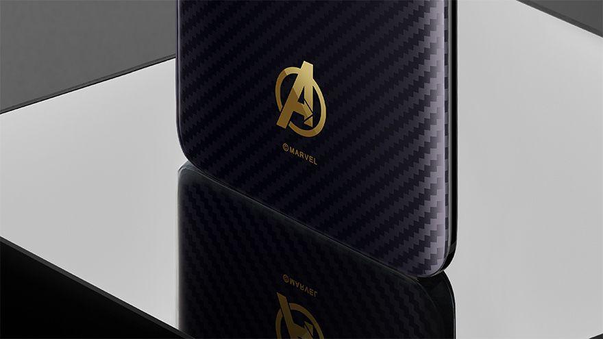 OnePlus 6 : voici l'édition spéciale Avengers Infinity War en images