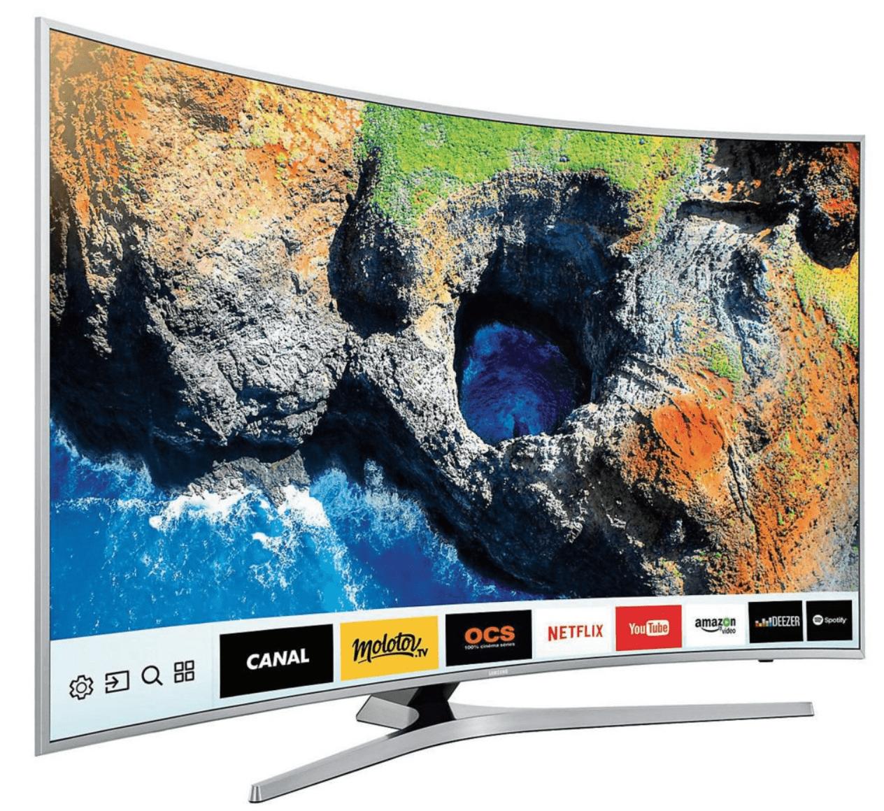 🔥 Bon plan : une TV LED incurvée 4K HDR Samsung de 49 pouces est disponible à 699 euros