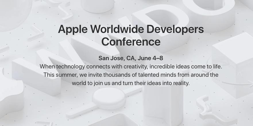 WWDC 2018 : Apple confirme l'heure de la conférence