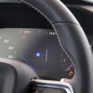 Nous avons essayé un prototype Volvo avec Android comme système d'exploitation