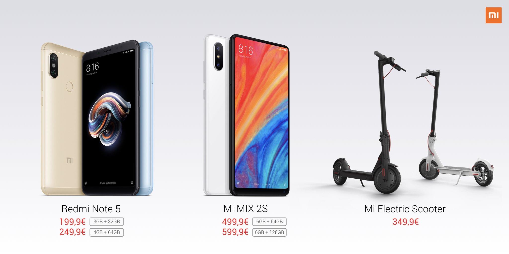 Quels sont les produits Xiaomi disponibles officiellement en France et à quels prix ?