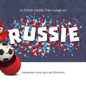 Coupe du Monde 2018 : Free Mobile ajoute l'itinérance en Russie dans son forfait