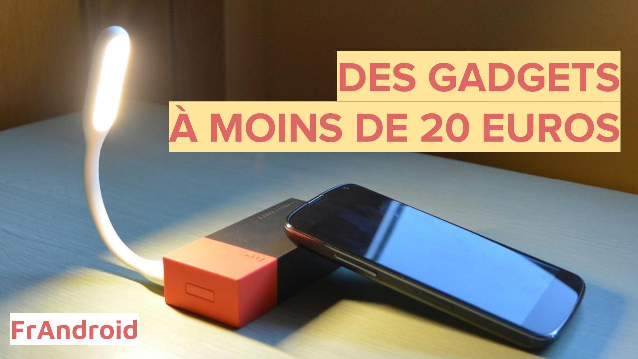 Les meilleurs gadgets pour votre smartphone à moins de 20 euros : notre sélection