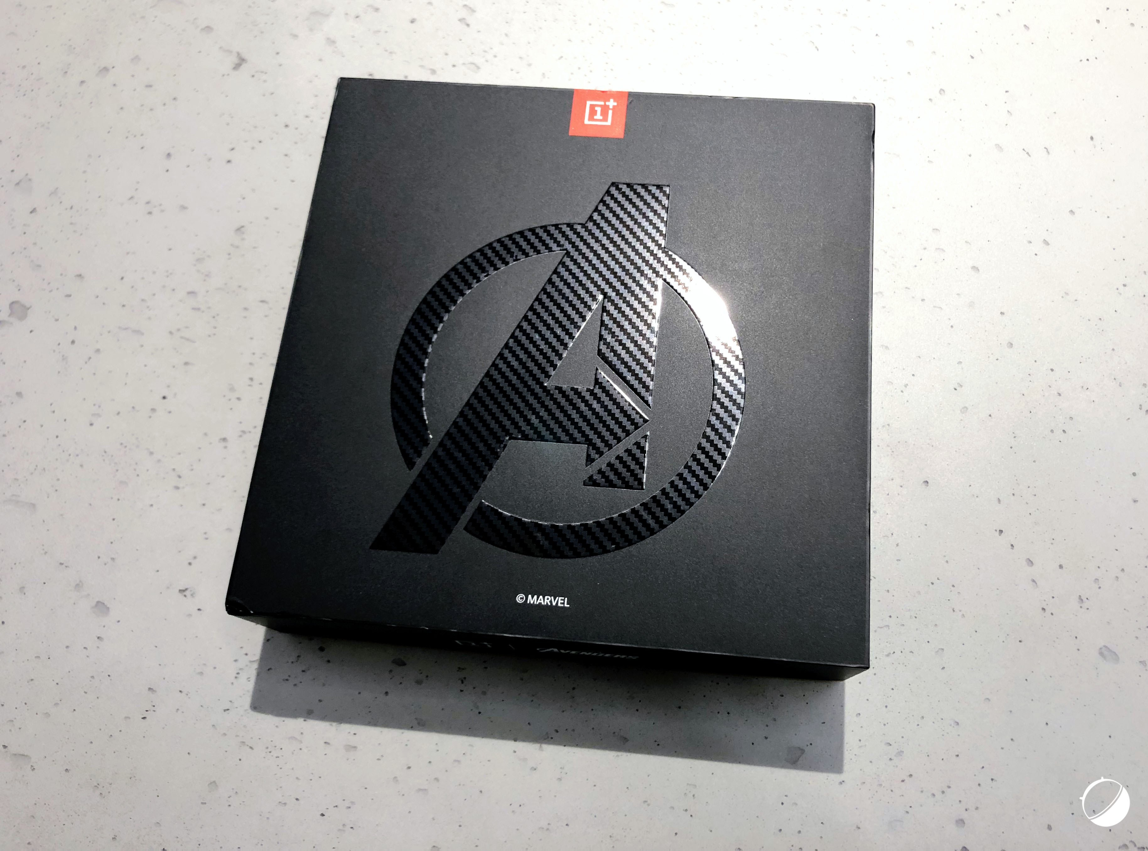 OnePlus 6 édition Avengers Infinity War: voici nos photos