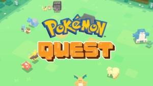 Pokémon Quest est disponible sur Android après son succès sur Switch