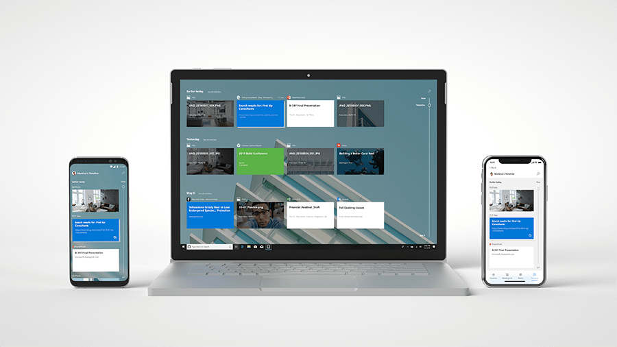 Timeline et Your Phone : Microsoft synchronise parfaitement Android et Windows 10