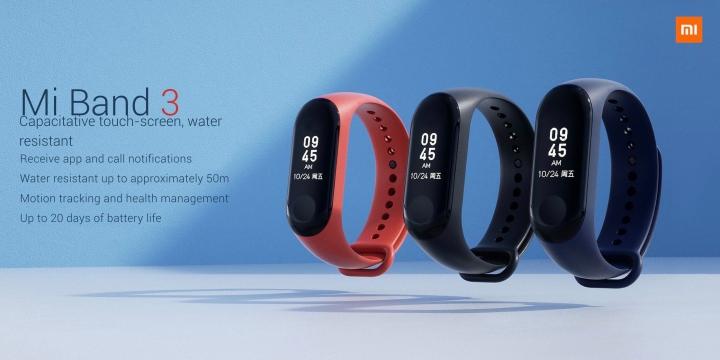 Xiaomi lance le Mi Band 3 en France : un bracelet connecté à 30 euros