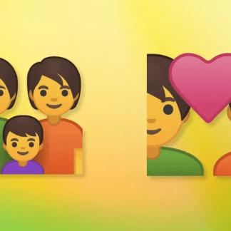 Android P prône toujours l'inclusivité avec de nouveaux émojis