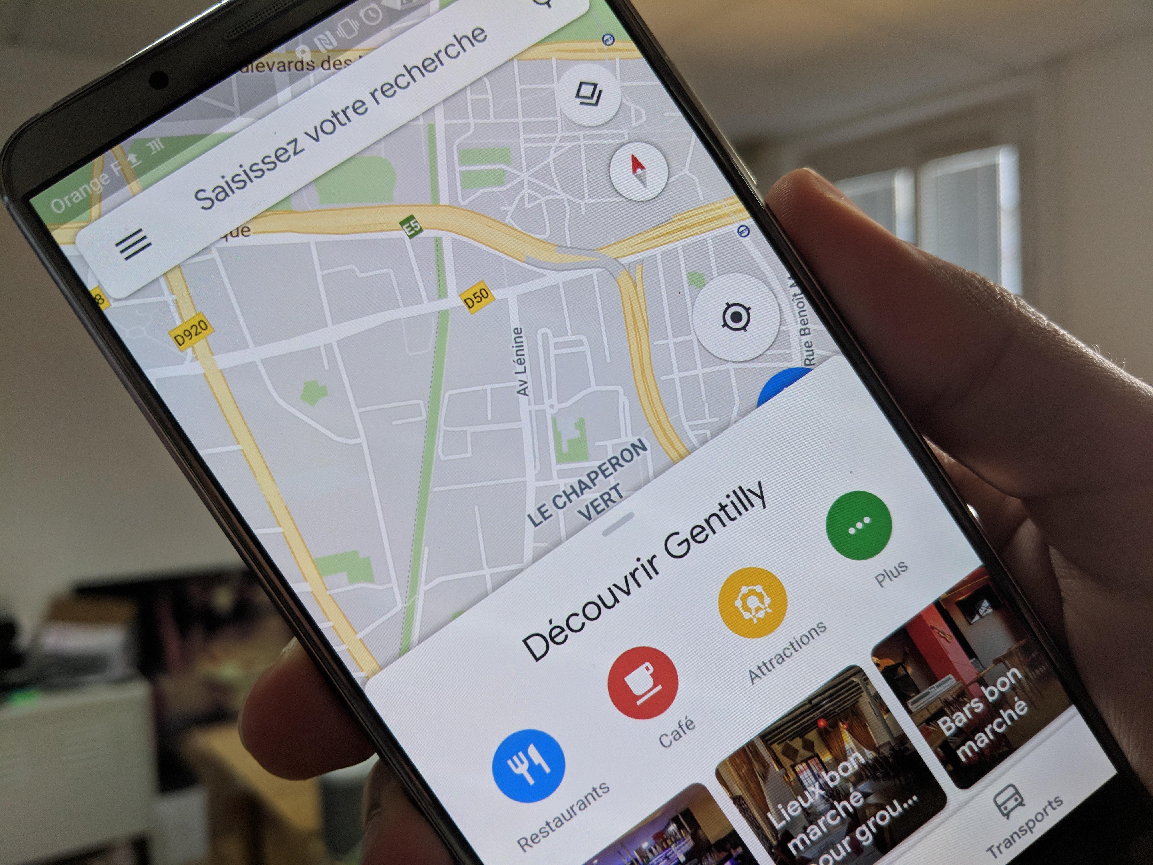 Google Maps : vous pouvez tous profiter du nouveau design Material Theming