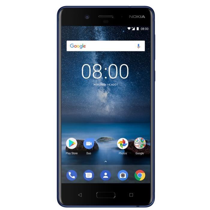 🔥 Soldes : le Nokia 8 passe sous la barre des 300 euros chez Cdiscount