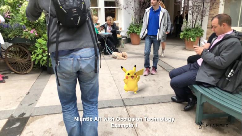 Pikachu joue à cache-cache avec le mobilier dans la nouvelle réalité augmentée de Niantic