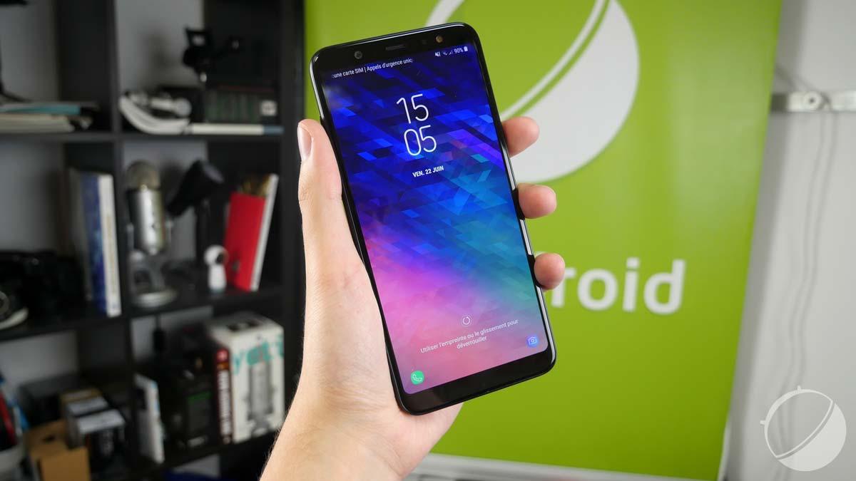 Test du Samsung Galaxy A6+ : grande autonomie pour petite puce