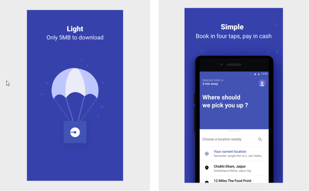 Uber se met au Lite : une cure de minceur dont on espère profiter