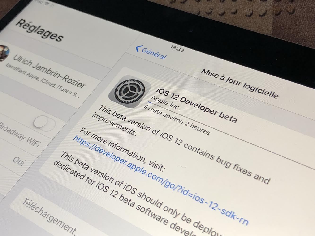 Comment installer la bêta publique d'iOS 12 sur votre iPhone et votre iPad ?