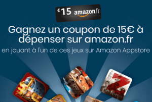 🔥 Bon plan : 15 euros offerts sur Amazon grâce à l'Amazon Appstore