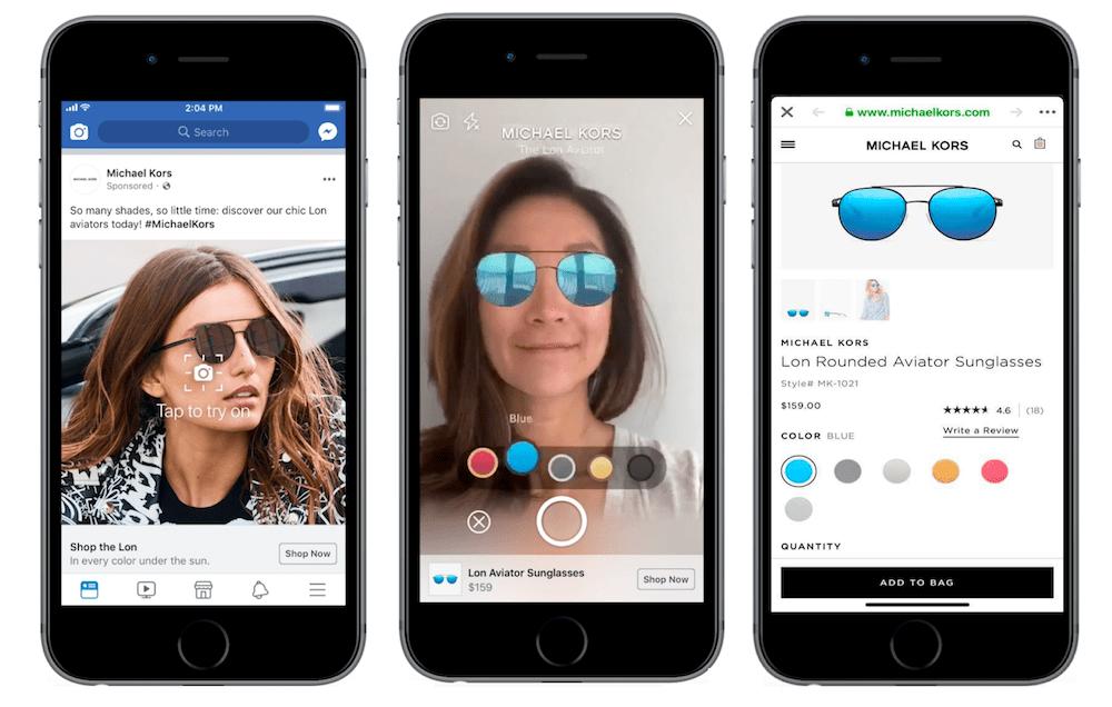 Facebook : les publicités en réalité augmentée débarquent sur le fil d'actualité
