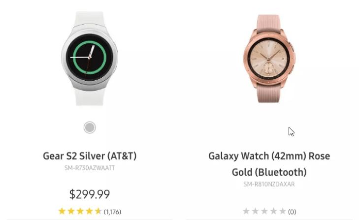 Galaxy Watch : une erreur de Samsung offre un bref aperçu de la montre connectée