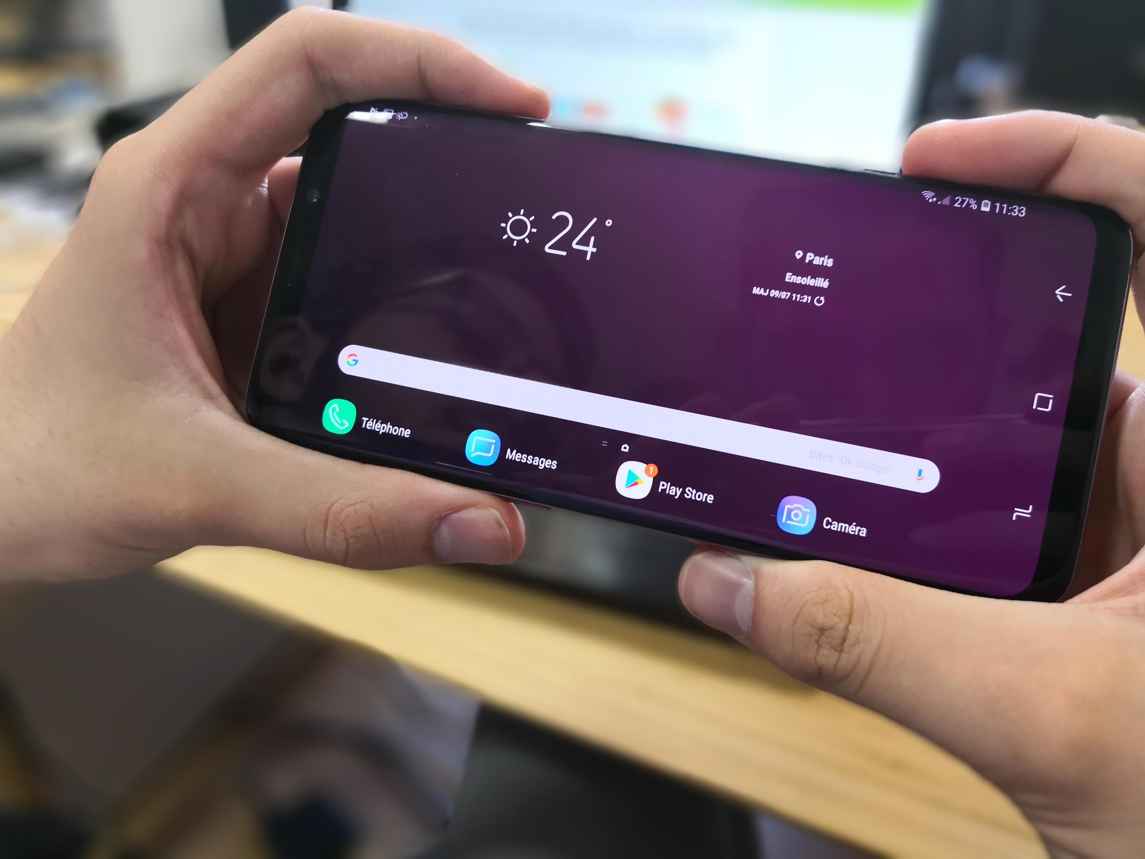 Les Samsung Galaxy S8, S8+, Note 8 récupèrent une fonctionnalité de l'interface du Galaxy S9 en test