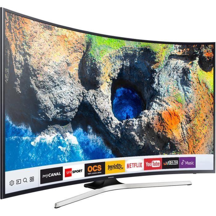 🔥 Bon plan : TV LED Samsung 4K UHD Incurvé de 49 pouces est à 549 euros