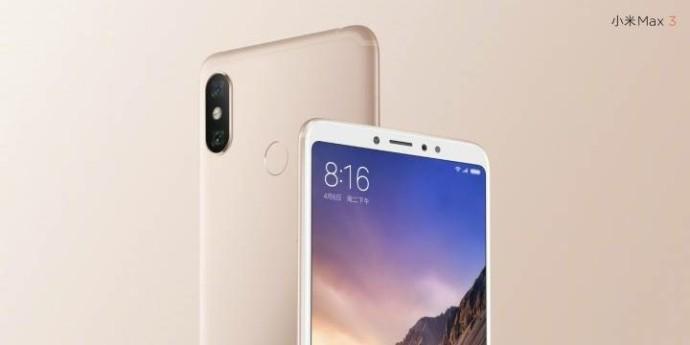 Xiaomi Mi Max 3 : voici les caractéristiques du smartphone géant et son prix supposé