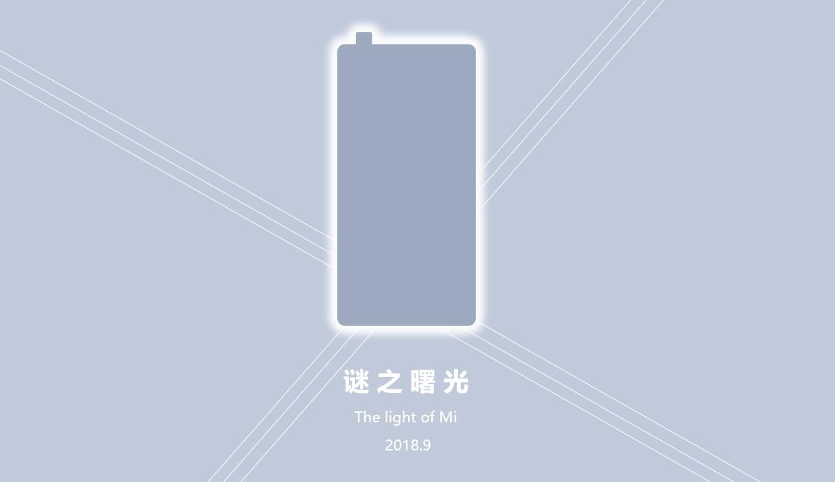 Mi Mix 3 : Xiaomi intègrerait une caméra «pop-up» comme le Vivo Nex