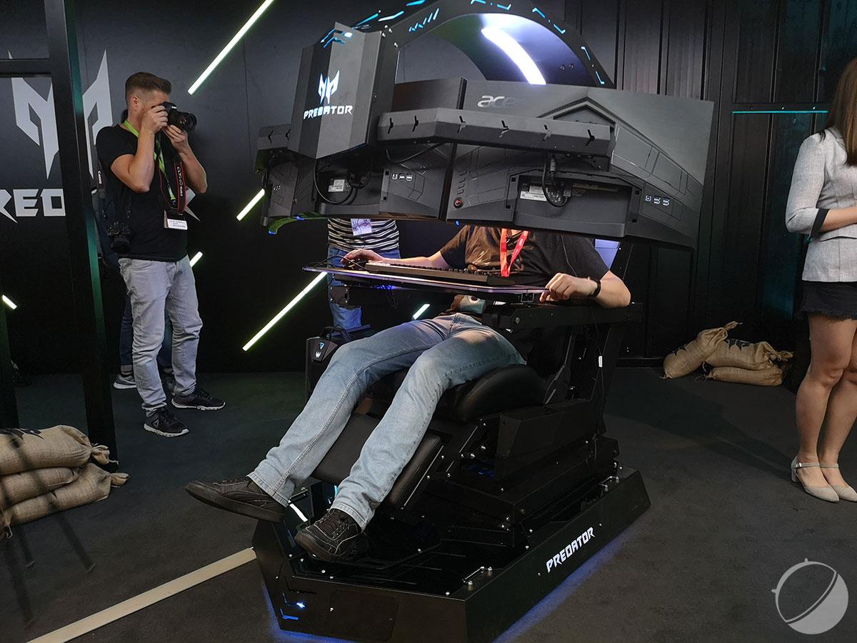 Vous rêviez d'un trône pour hardcore gamer ? Acer l'a fait : le Predator Thronos est à l'IFA 2018