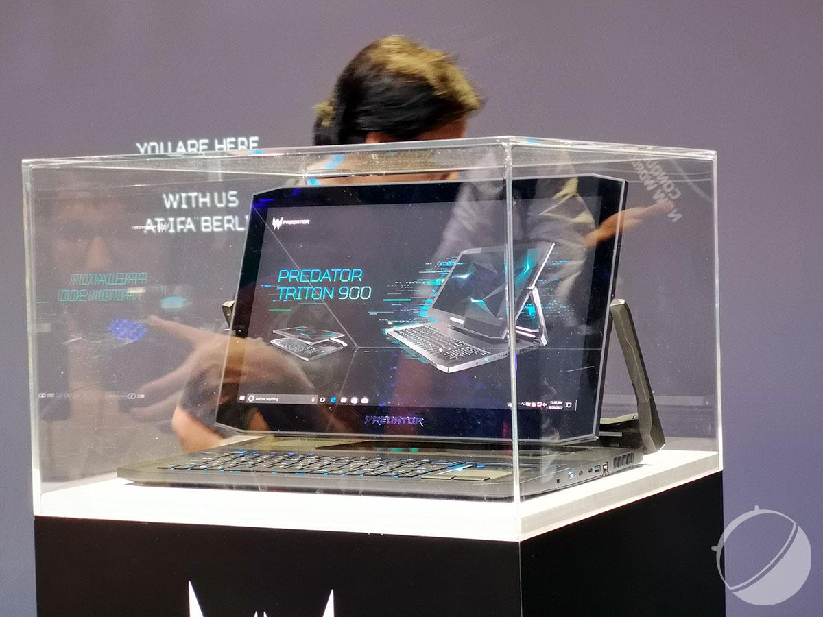 Acer Predator X et Triton 900 : les gros joueurs portables et fixes sont gâtés sur l'IFA 2018