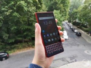 BlackBerry KEY2 LE : notre prise en main du clavier physique accessible à tous – IFA 2018