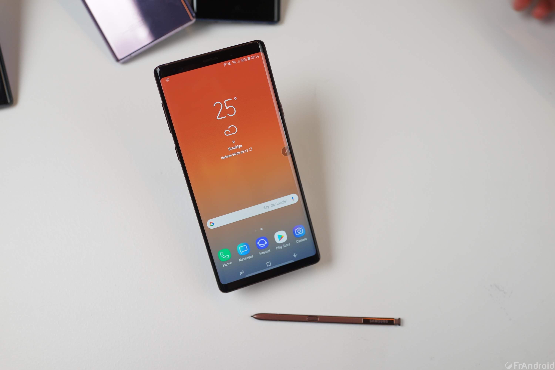 Le Samsung Galaxy Note 9 a le meilleur écran pour smartphone au monde selon DisplayMate