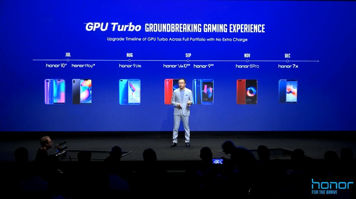 Honor : voici les smartphones qui auront droit au GPU Turbo