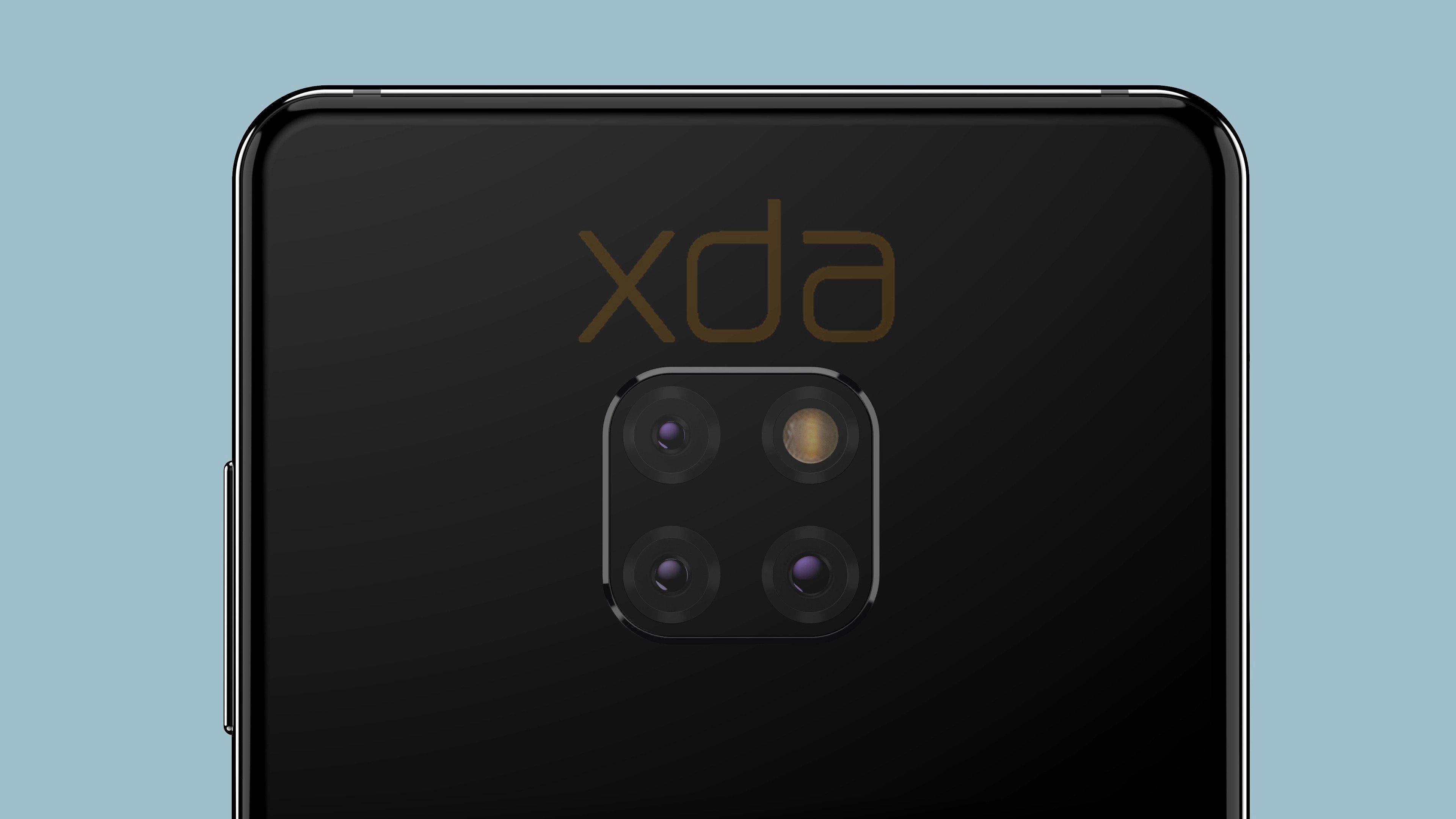 Huawei Mate 20 et Mate 20 Pro : le module photo carré est confirmé par la marque