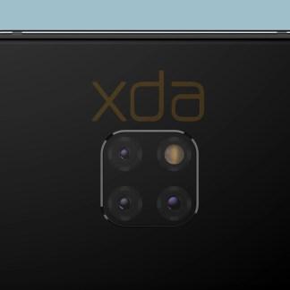 Huawei Mate 20 : des rendus dévoilent son module photo carré et une encoche discrète