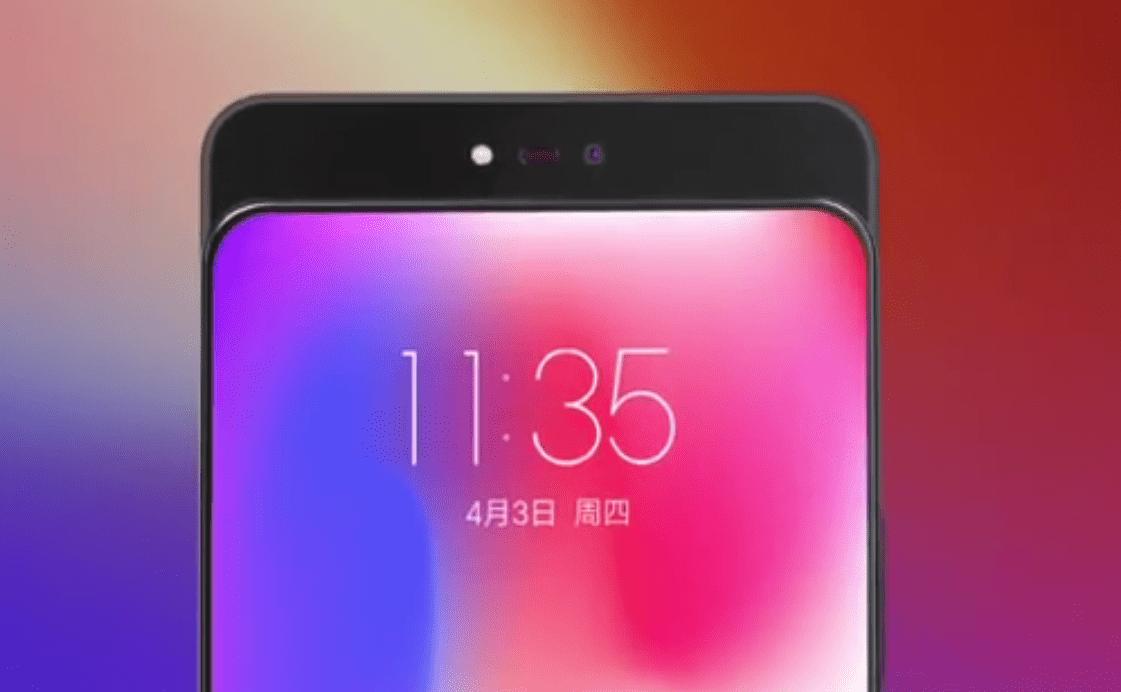 Lenovo tease un smartphone avec appareil photo coulissant