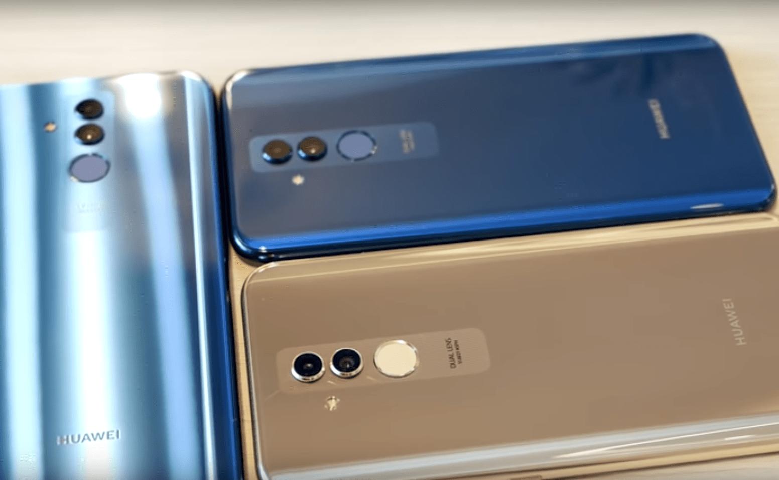 Le Huawei Mate 20 Lite se dévoile dans une vidéo de prise en main