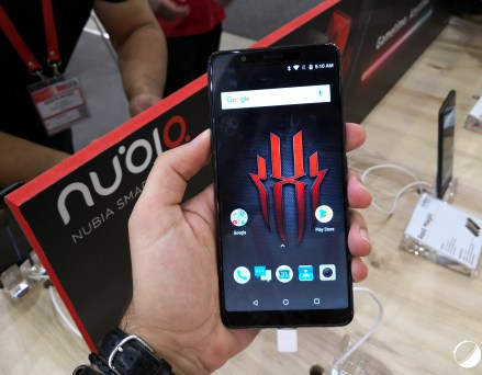 Nubia Red Magic : le smartphone gamer arrive en...