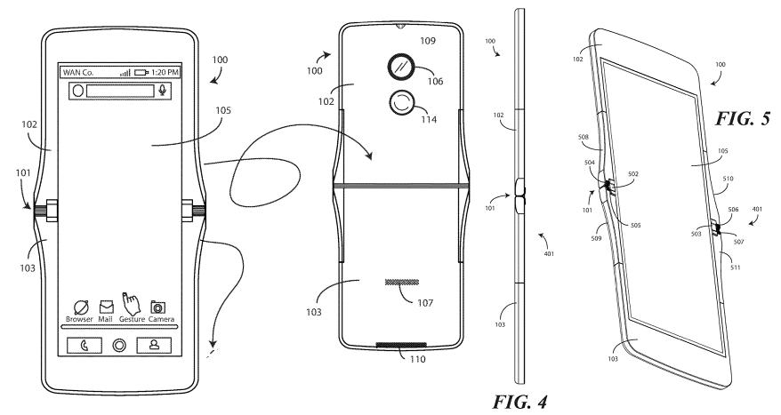 Motorola travaillerait à son tour sur un smartphone à écran pliable