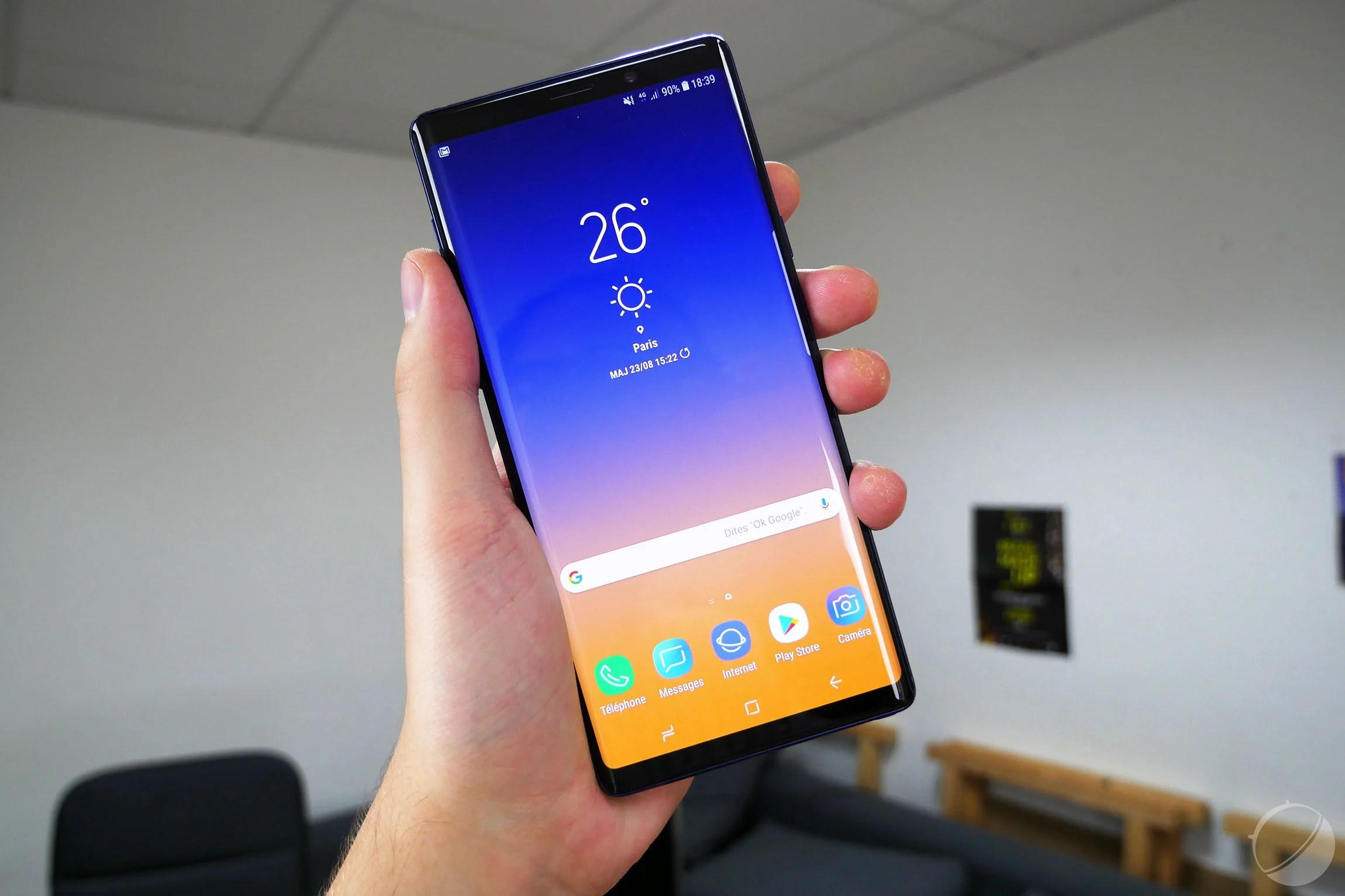 🔥 Bon plan : le Samsung Galaxy Note 9 est à moins de 665 euros sur eBay